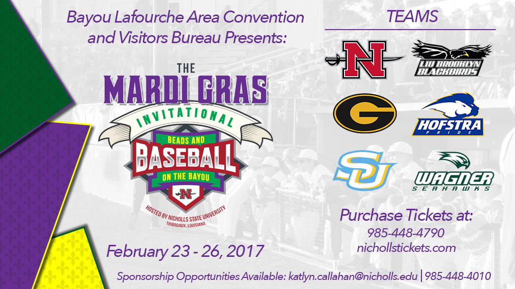 Baseball opens play in Mardi Gras Invitational tonight