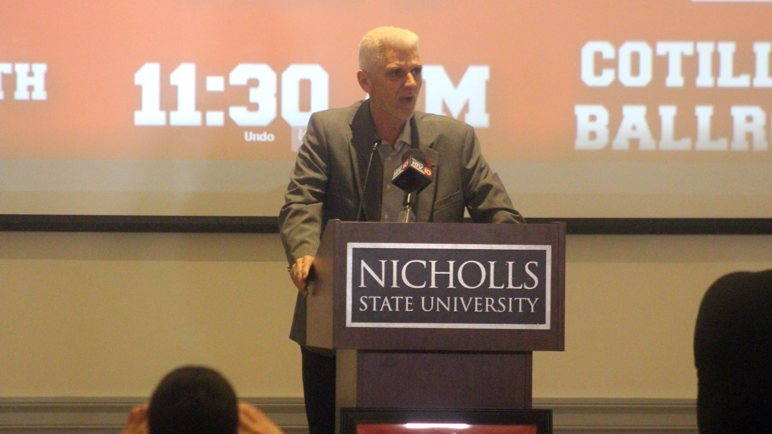Colonel Football welcomes 20 on National Signing Day - Nicholls ... e070a70a5